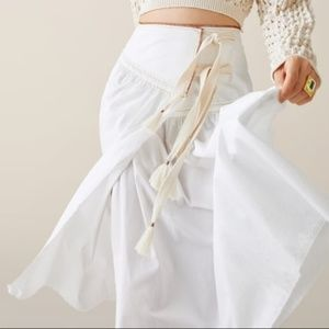 Zara limited edition studio pareo flowy skirt